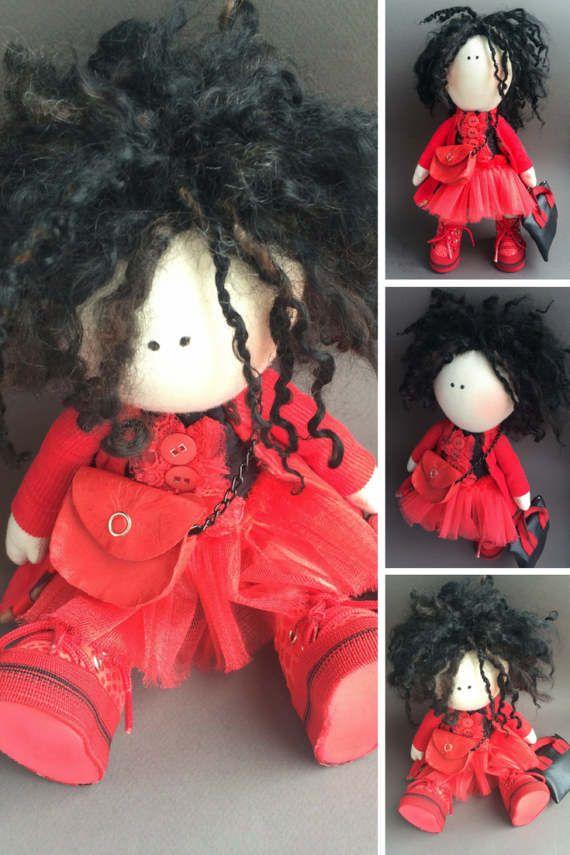 Muñecas Soft doll Handmade doll Tilda doll by AnnKirillartPlace