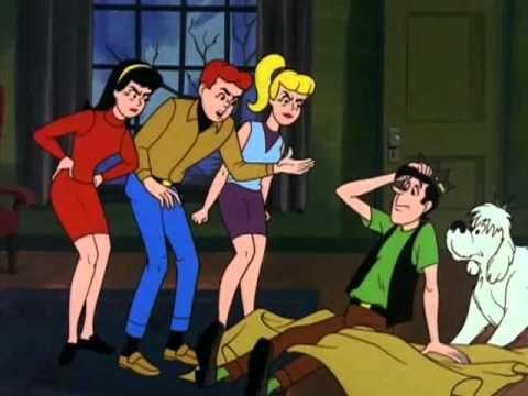 Archie Cartoon - Groovie Ghost