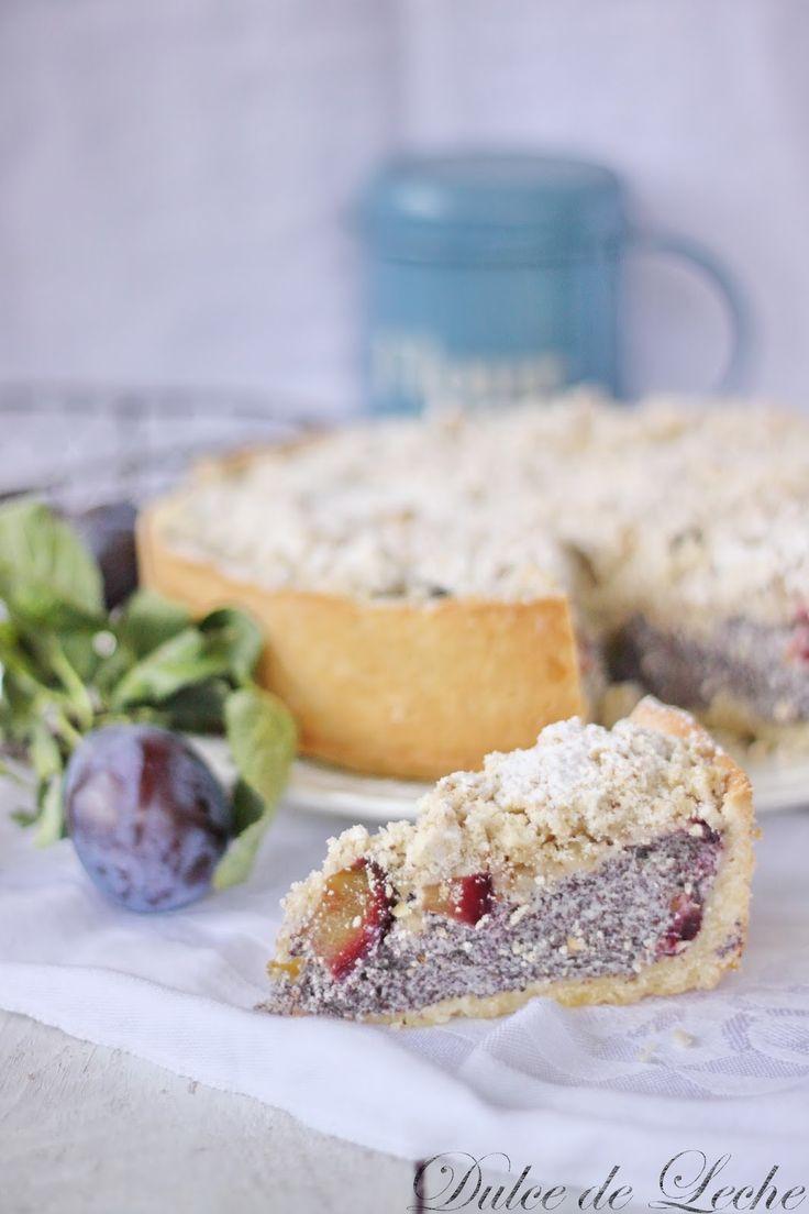 Dulce de Leche: Makovo tvarohový koláč so slivkami