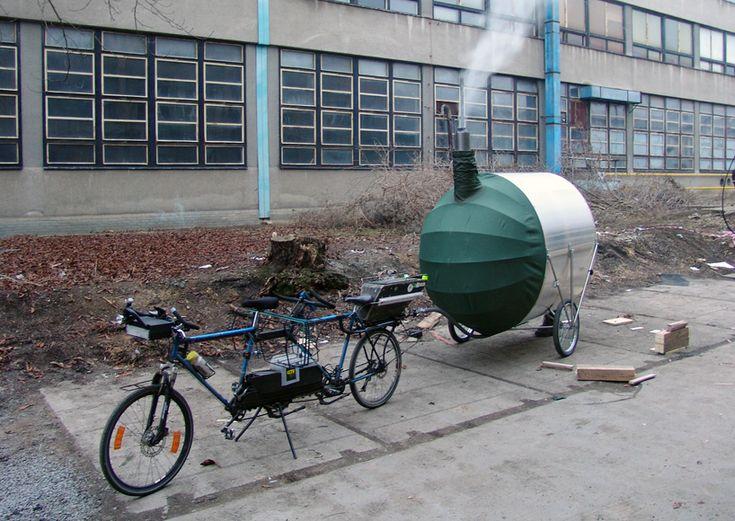 H3T architects: bike sauna