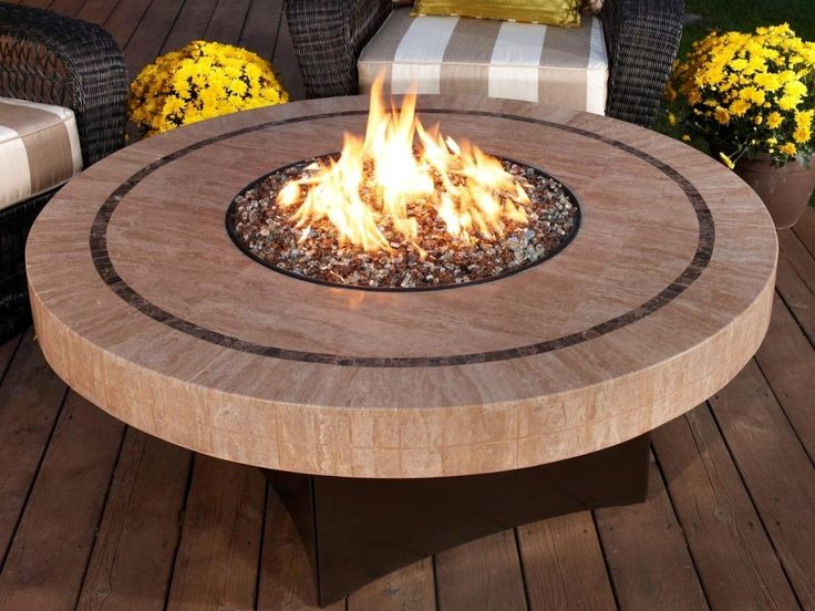 Table Top Stone Fire Pit