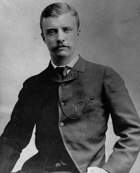 Young Theodore Roosevelt 1880s Theodore Roosevelt 1858-1919, who was American President from 1901 to 1909, was rumoured to have his family crest tattooed on his chest. (PA)