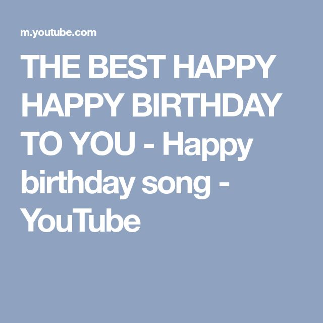 Free Happy Birthday Song, Happy Birthday Song