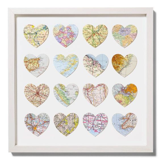 Favorite places: Projects, Crafts Ideas, Favorite Places, Gifts Ideas, Cute Ideas, Maps Heart, Diy, Heart Maps, Cut Outs