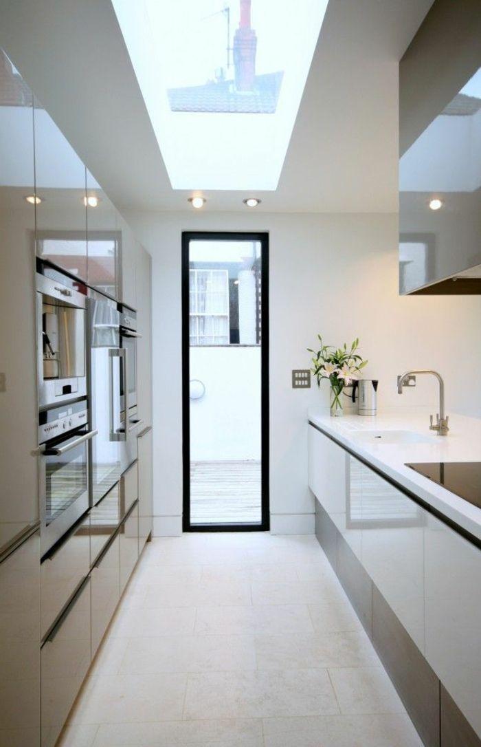 les 25 meilleures id es de la cat gorie agencements de cuisine sur pinterest design d. Black Bedroom Furniture Sets. Home Design Ideas