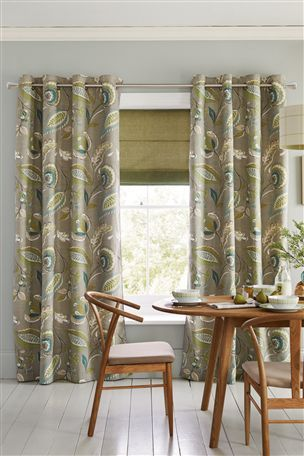 Buy Smart Artisan Print Eyelet Curtains from the Next UK online shop