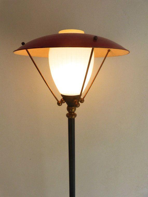 ARLUS tripod mushroom floor lamp 1950 by CasquilhovintageLamp