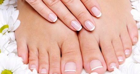 Nail Care with Facial Wax (up to 52% off)