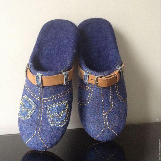 Обувь ручной работы. Тапочки