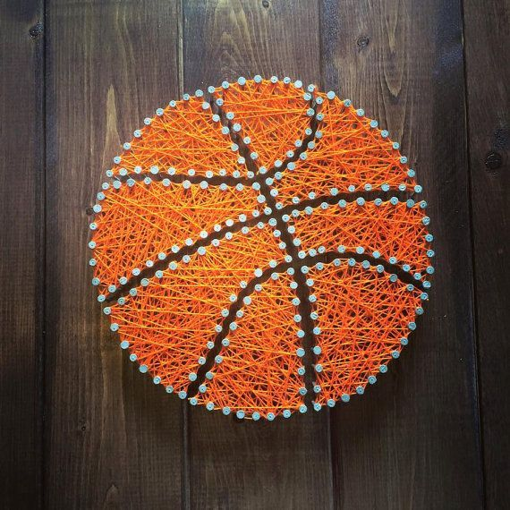 Customizable Sports String Art by mdscreations10 on Etsy