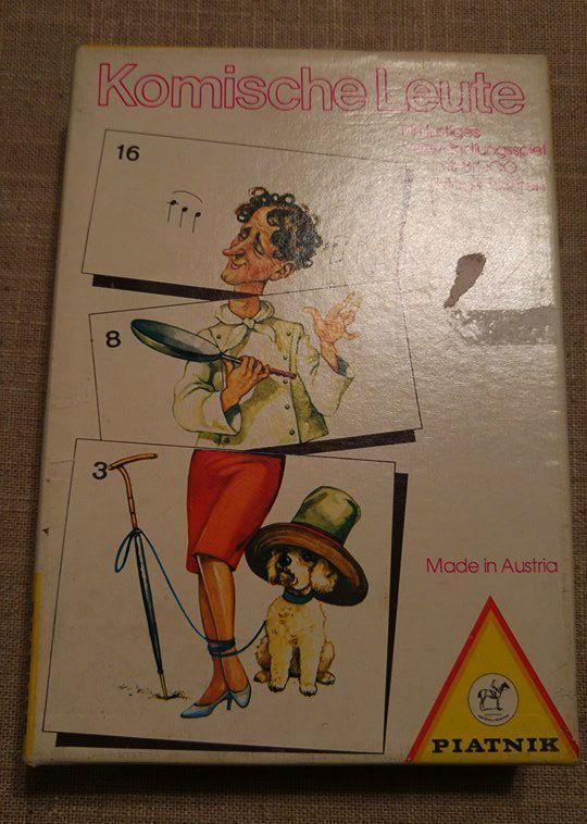 Rare vintage Piatnik Komische Leute Nr. 4263 funny board game puzzle Austria. Funny board game puzzle-style. A funny transformation game with 8000 possibilities. Made in Austria. | eBay!