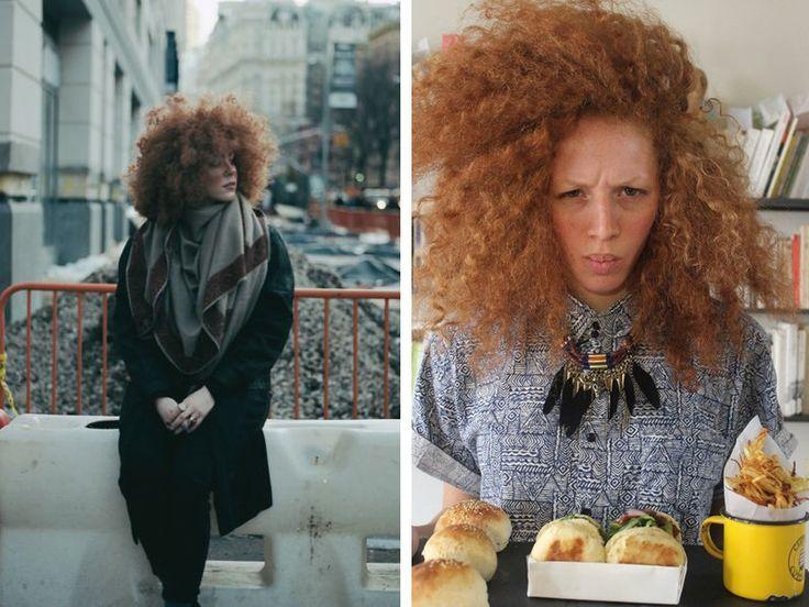 Best 25 white girl afro ideas on pinterest afro hair white hair lusting messy curls pmusecretfo Gallery