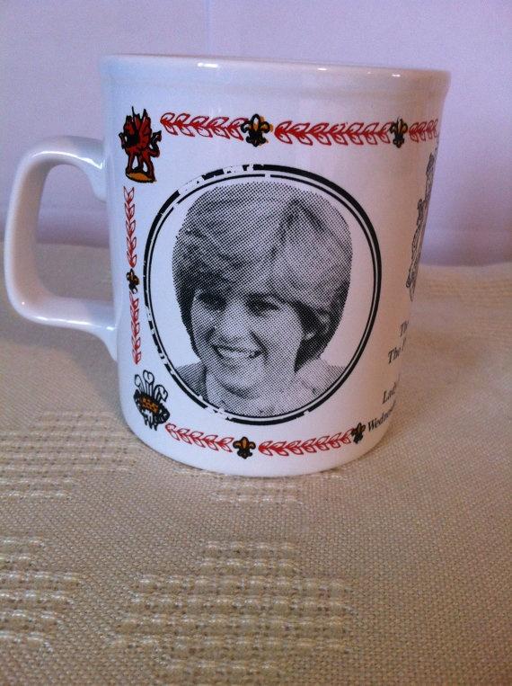 Vintage Mug Royal Wedding Commemorative Mug by Clear WaterDesigns by Kim Shimizu, $8.95