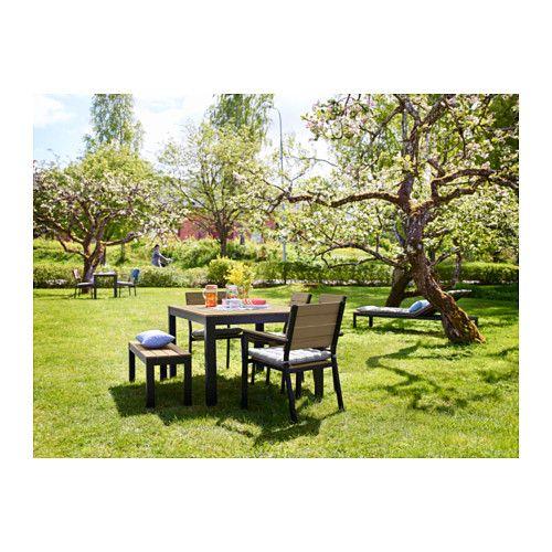 FALSTER Armleunstoel buiten - zwart/bruin - - IKEA  sc 1 st  Pinterest : ikea falster chaise - Sectionals, Sofas & Couches