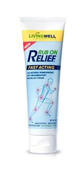 Review Of Rub On Relief Back Pain Cream