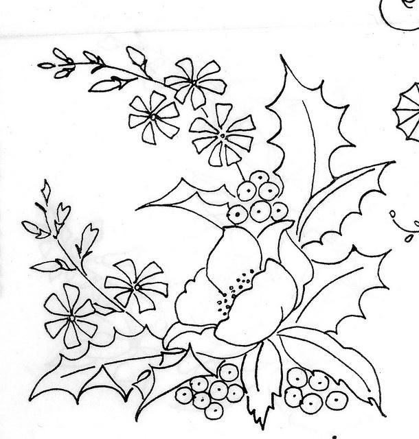 Mejores 619 im genes de dibujos para pintar en pinterest - Dibujos navidenos para bordar ...