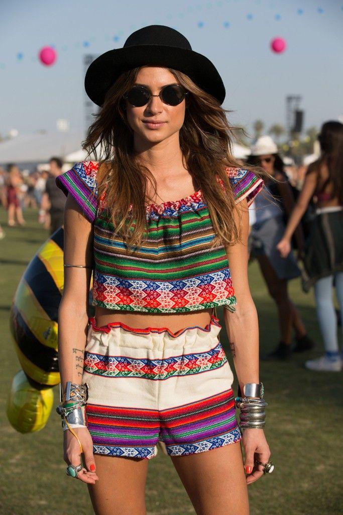 Coachella 2014 - Thaila Ayala Look/Outfit