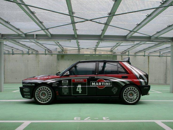 Lancia Delta Martini Racing