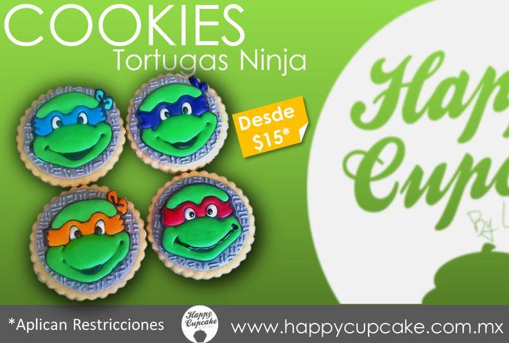 #Tortugasninja #TennageMutantTurtles Facebook.com/happycupcakeDf