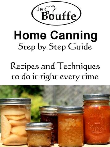 Free Home Canning Step-by-Step Guide