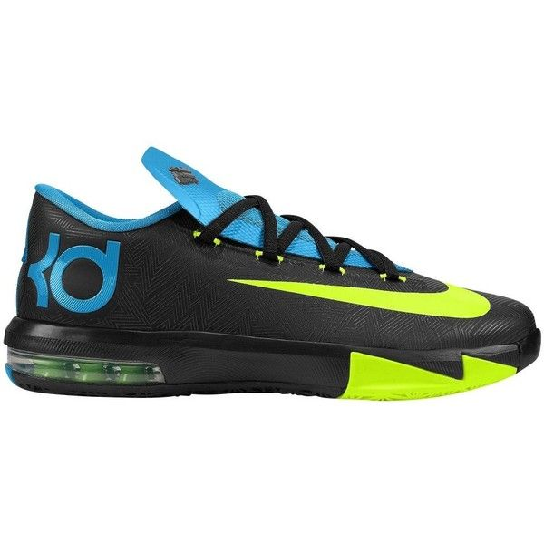Nike KD VI Boys' Grade School ❤ liked on Polyvore featuring shoes, sneakers, kd, nike and kds