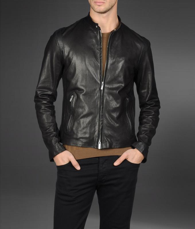Armani - Leather jacket