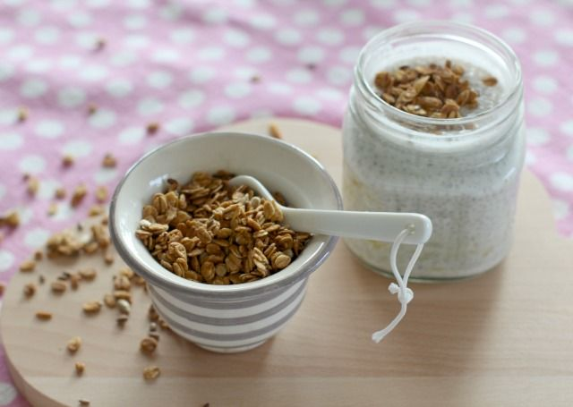 4more Chia-Pudding & Granola  4