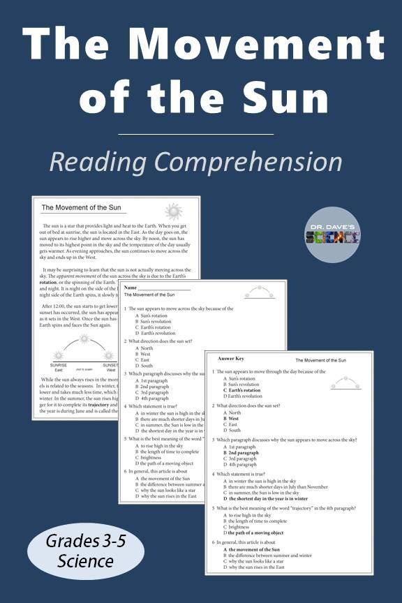Earth Science Reading Comprehension Passages And Questions | Science  Reading Comprehension, Reading Comprehension Passages, Comprehension Passage