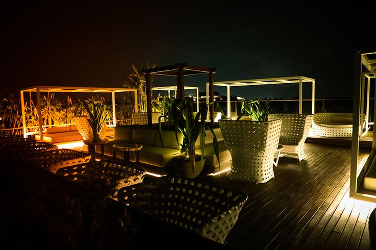 Club (Lounge) ROOFGARDEN   TOWNHOUSE for sunset and nibbles featured in Elle Jl. Laksamana 151 Seminyak