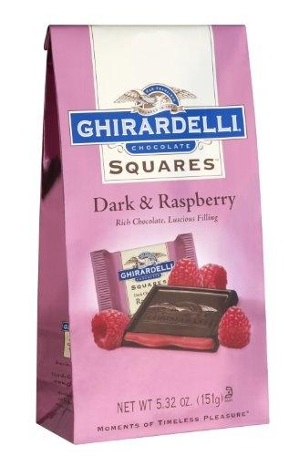 Ghirardelli Chocolate Squares, Dark & Raspberry « Lolly Mahoney