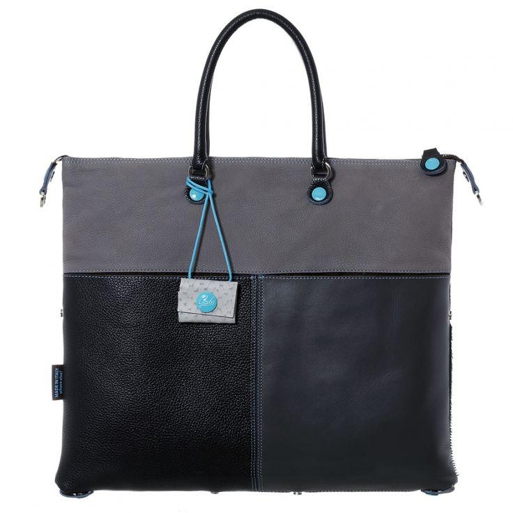 Borsa Gabs G3 in multi pelle grigia #lollishop #gabs #g3 #collection #bag #bags #borsa #womenfashion #apparel #style #fashion #madeinitaly #winter #outfit #red #black