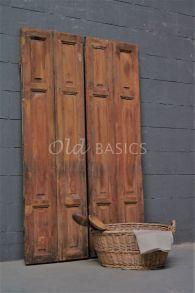 Oude houten luiken | Old BASICS | webshop voor unieke oude meubels en op maat gemaakte meubels van hout en ijzer| Brocante - Industrieel - Vintage - Stoer landelijk _ oud hout_houten luiken     www.old-basics.nl
