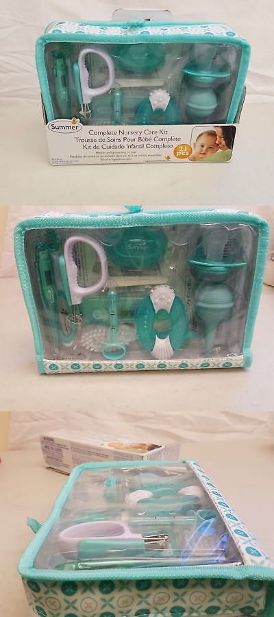 Health And Grooming 45452 Summer Infant Complete Nursery Care Kit Teal White H104072 It Now Only 14 95 On Ebay