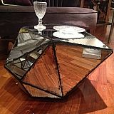 DOLMEN - mirrored coffee table by Cote Table #mirrored #french #furniture