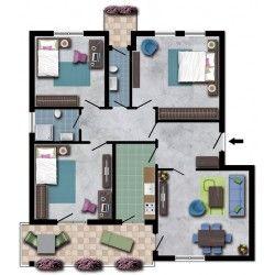 Pi di 25 fantastiche idee su agenzie immobiliari su for Planimetrie della casa con seminterrato di sciopero