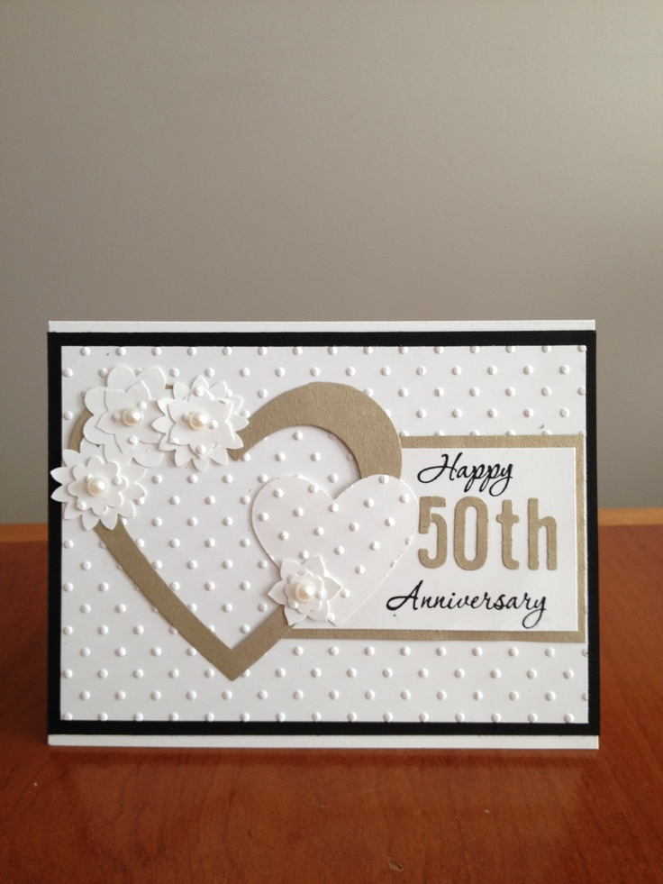 50 anniversary card...can be wedding card as well!!
