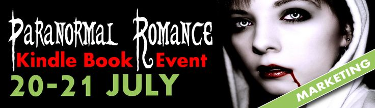 Paranormal Romance Kindle Promotional Event