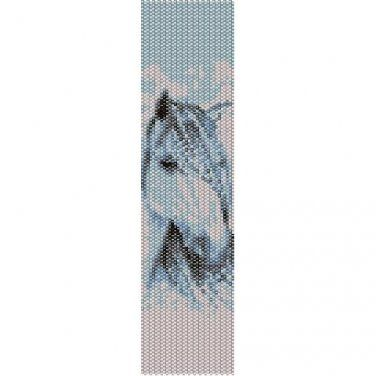 SHADOWFAX STALLION - LOOM beading pattern for cuff bracelet (buy any 2 patterns - get 3rd FREE)
