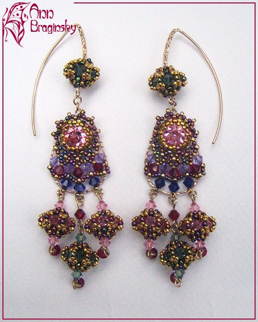 I'd like something like this with posts; eliminate the top beaded beads and ear wires.