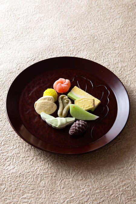 Japanese dry confectionary -Higashi-