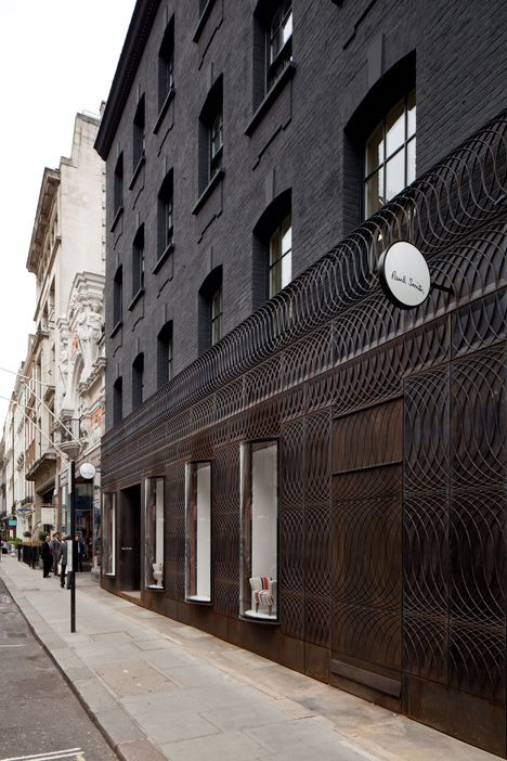 Paul Smith Albemarle Street Store Facade - 6a Architects