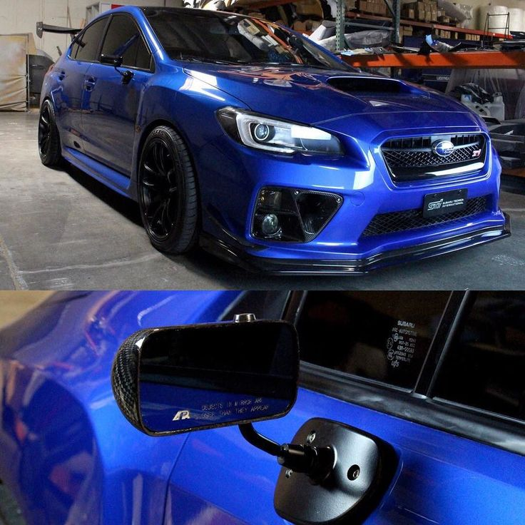 NEW! APR Performance Formula GT3 Mirror Set for the 2015 WRX STi. Order your set…