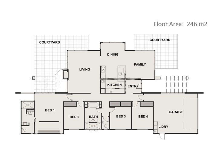 New home builders in Taupo and Tauranga New Zealand. Award winning house builders Taupo Tauranga best NZ Home builders registered master builder Taupo, building company taupo : View the Floor Plan