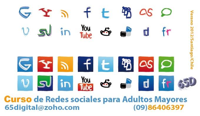 Clases año 2012 para Adultos Mayores que quieren a aprender a usar las Redes Sociales. (Santiago, Chile). Valor clase de 1 hora: ocho mil pesos chilenos $8000