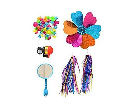 1Set 5PCS Kids Children Scooter Bike Handlebar Colourful Bicycle Streamers Pom pom Pair Bicycle Grips Tassel Ribbon /Flower Pinwheel /Wheel Spoke Stars Beads Decoration Baby Carrier Accessories. #Kids #Children #Scooter #Bike #Handlebar #Colourful #Bicycle #Streamers #Pair #Grips #Tassel #Ribbon #/Flower #Pinwheel #/Wheel #Spoke #Stars #Beads #Decoration #Baby #Carrier #Accessories