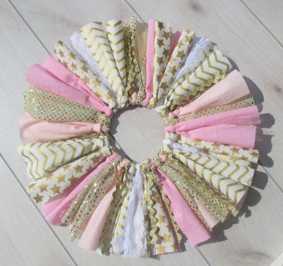 Rosa e oro tema Tutu Set/1st Birthday vestito/neonata Twinkle