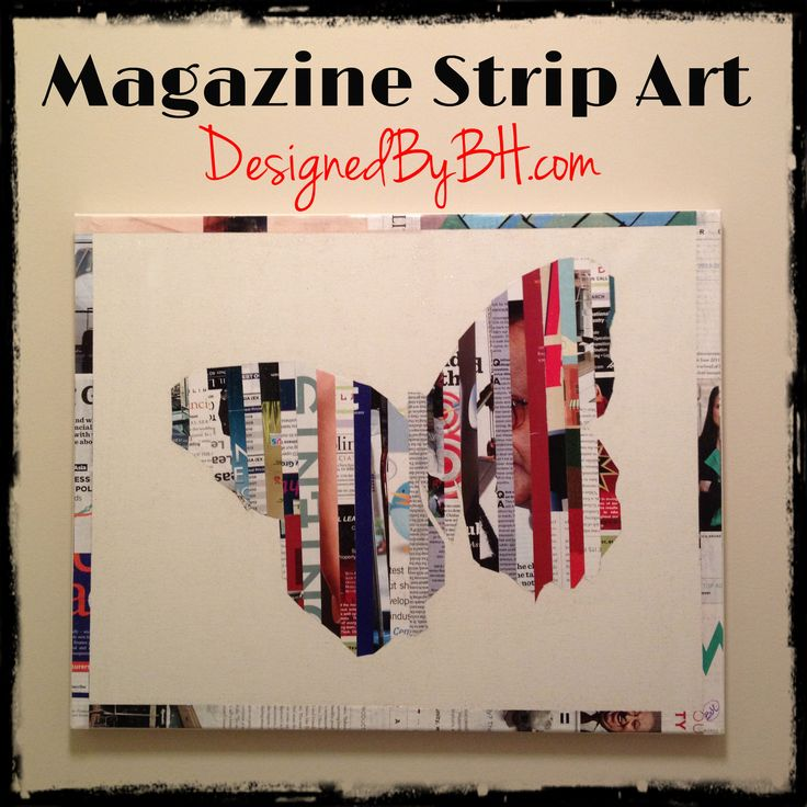 Magazine Strip Art