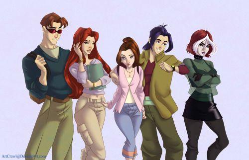 X-Men Evolution by ArtCrawl