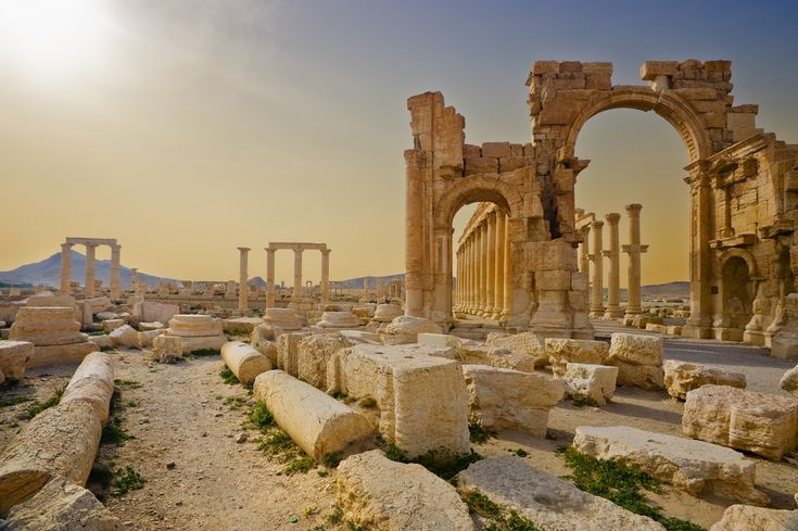 Palmyra: a stunning ancient city now under threat from Isis – please bomb the crap out of them before they destroy yet another irreplaceable historic site!