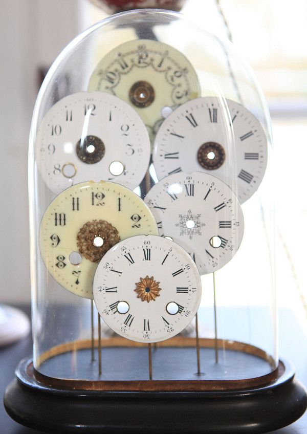 les cadrans d'horloges